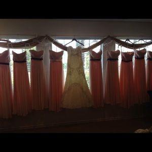 e435a1edcca Bill Levkoff Dresses - Bridesmaid Dress petal pink saffron